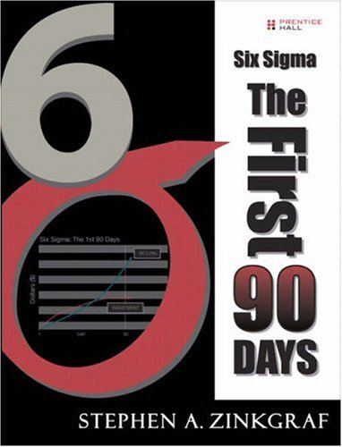 9780131687400: Six Sigma--The First 90 Days