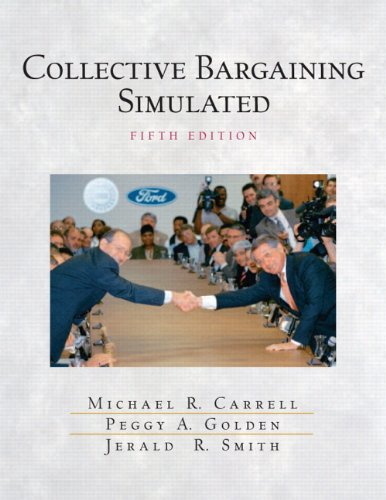 9780131687493: Collective Bargaining Simulated