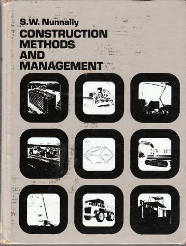 9780131688070: Construction Methods and Management