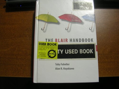 9780131691124: Blair Handbook & New American Webster College Dictionary Package (5th Edition)
