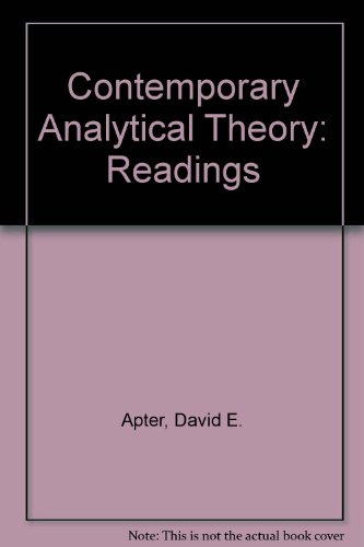 9780131695320: Contemporary Analytical Theory: Readings
