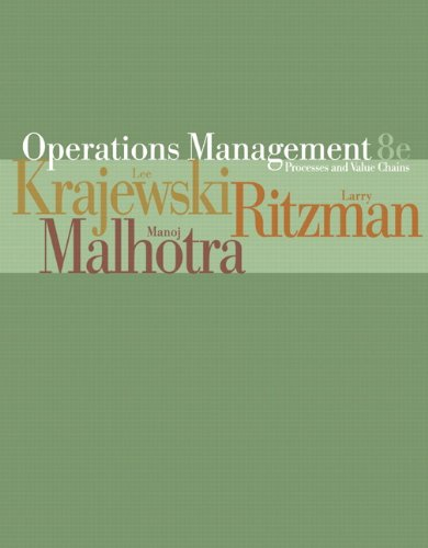 9780131697393: Operations Management: Process and Value Chains