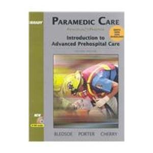 9780131697751: Paramedic Care: Principles and Practice Volumes 1-5 Package (2nd Ed.)