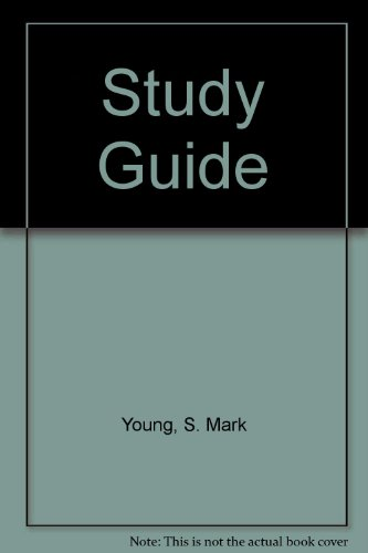 9780131699212: Study Guide