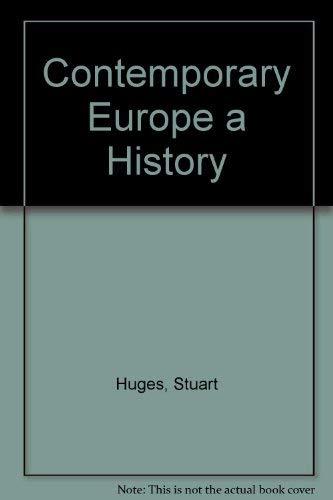 9780131699472: Contemporary Europe: A History