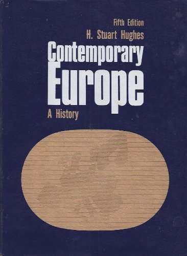 9780131700277: Contemporary Europe: A History
