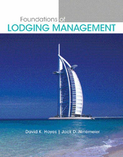 9780131700550: Foundations of Lodging Management (Pearson Custom Library: Hospitality and Culinary Arts)