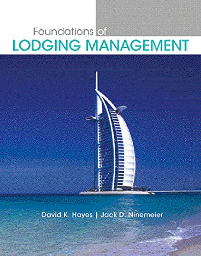 9780131700550: Foundations of Lodging Management