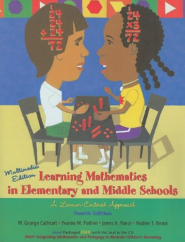 Learning Mathematics in Elementary and Middle Schools: Cathcart, George, Pothier,