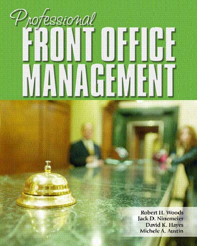 9780131700697: Professional Front Office Management