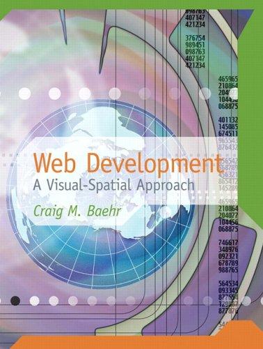 9780131701229: Web Development: A Visual Spatial Approach