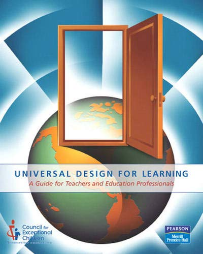 9780131701601: Universal Design for Learning