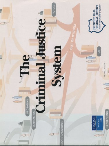 9780131701618: Criminal Justice Systems Chart (6th Edition)