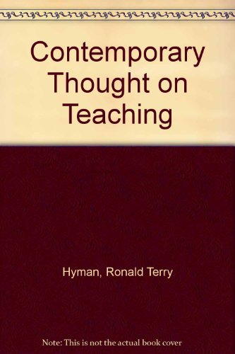 9780131702097: Contemporary Thought on Teaching