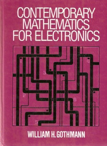9780131702745: Contemporary Mathematics for Electronics