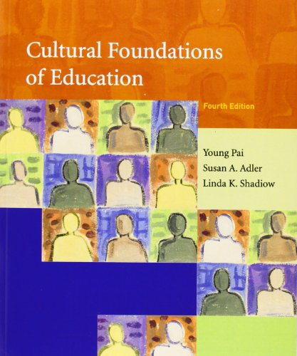 9780131702813: Cultural Foundations of Education