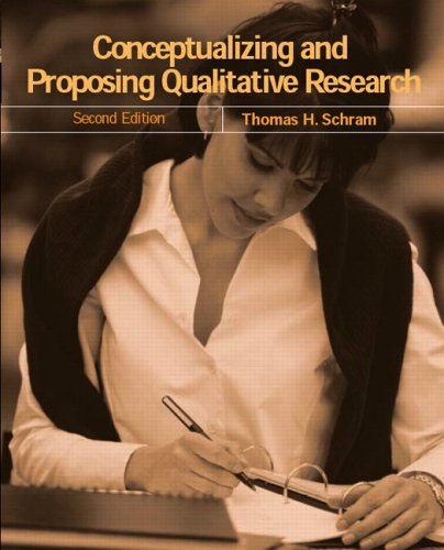 9780131702868: Conceptualizing and Proposing Qualitative Research: A Mindwork for Fieldwork in Education and the Social Sciences