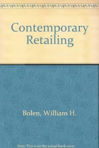 9780131702905: Contemporary Retailing