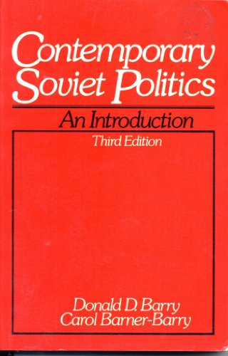 9780131703179: Contemporary Soviet politics: An introduction