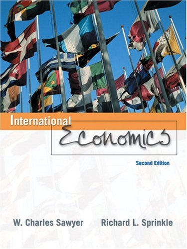 9780131704169: International Economics (2nd Edition)