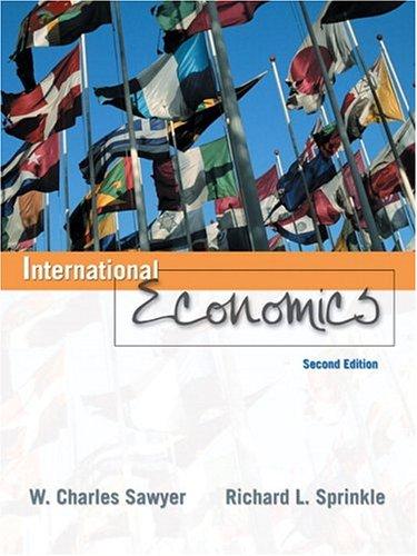 9780131704169: International Economics (2nd Edition)