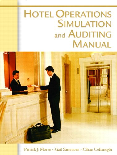 9780131704619: The Hotel Operations and Auditing Manual