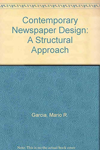9780131704817: Contemporary Newspaper Design: A Structural Approach