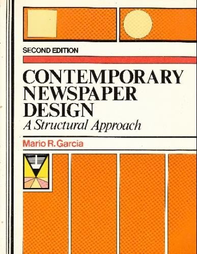 9780131704992: Contemporary Newspaper Design: A Structural Approach
