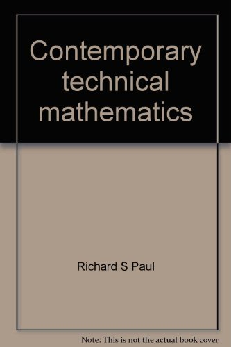 9780131706392: Contemporary technical mathematics (Prentice-Hall series in technical mathematics)