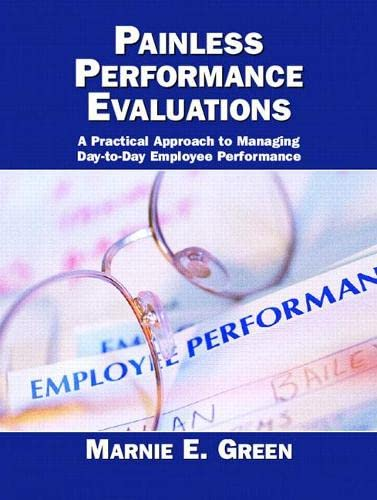 9780131706750: Painless Performance Evaluations