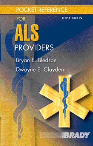 9780131707283: Pocket Reference for ALS Providers (3rd Edition)