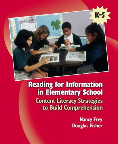 9780131707498: Reading for Information in Elementary School: Content Literacy Strategies to Build Comprehension
