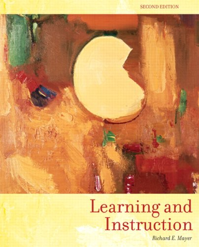 9780131707719: Learning and Instruction (2nd Edition)