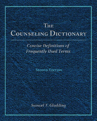 9780131707726: The Counseling Dictionary
