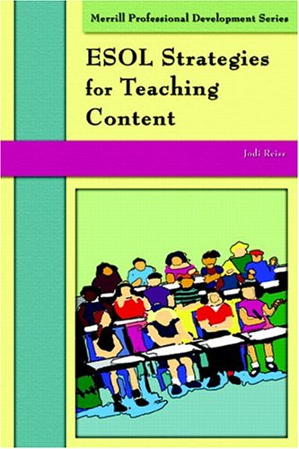 9780131708549: ESOL Strategies for Teaching Content (Merrill Professional Development)