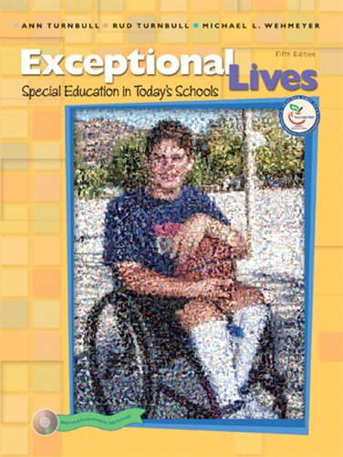 9780131708693: Exceptional Lives: Special Education in Today's Schools (5th Edition)