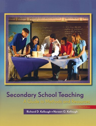 9780131709300: Secondary School Teaching: A Guide to Methods and Resources (3rd Edition)