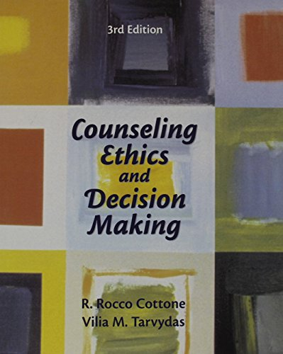 9780131710054: Counseling Ethics and Decision-Making (3rd Edition)