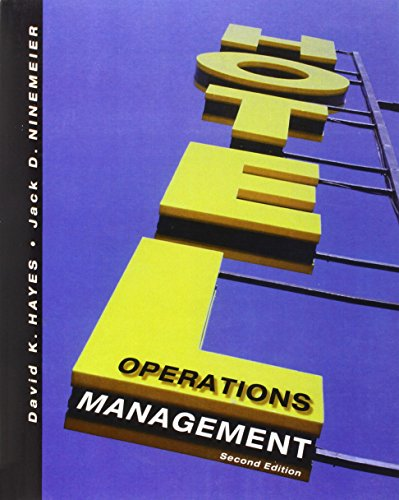 9780131711495: Hotel Operations Management