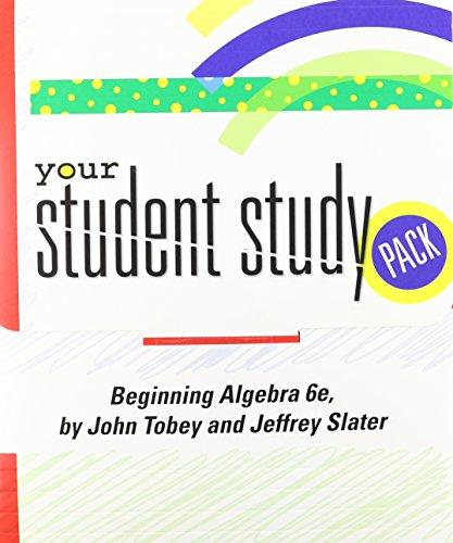 9780131711624: Beginning Algebra Student Study Pack
