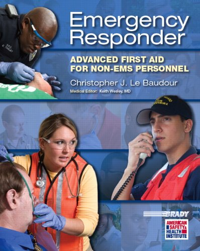 9780131712140: Emergency Responder: Advanced First Aid for Non?EMS Personnel (EMR)