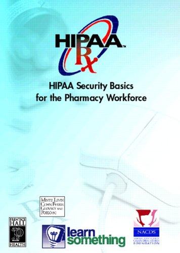 HIPAA Security: Basics for Pharmacy Workforce (CD-ROM: LearnSomething