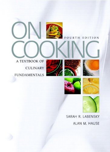 9780131713277: On Cooking: A Textbook of Culinary Fundamentals, 4th Edition