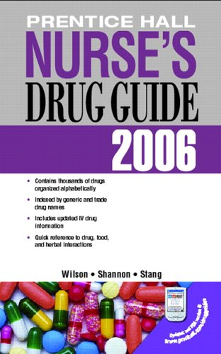9780131713611: Prentice Hall Nurse's Drug Guide 2006 (Retail Edition) (Nursing Drug Guide)