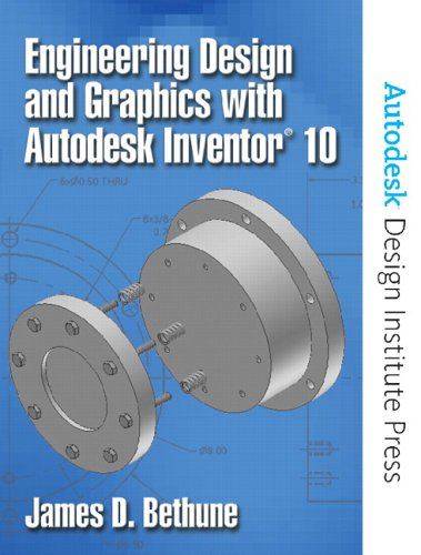 9780131713963: Engineering Design and Graphics with Autodesk Inventor(R) 10