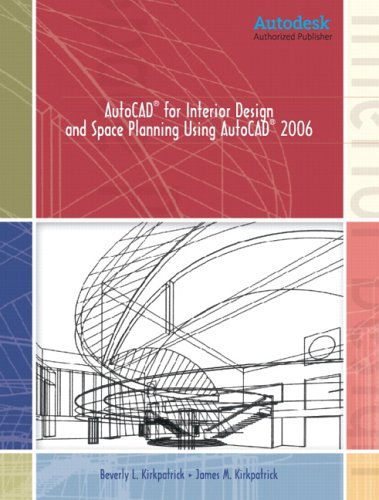 9780131714045: AutoCAD for Interior Design and Space Planning Using AutoCAD(R) 2006