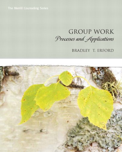 9780131714106: Group Work: Processes and Applications (Erford)