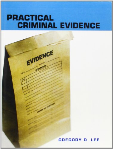 9780131714410: Practical Criminal Evidence