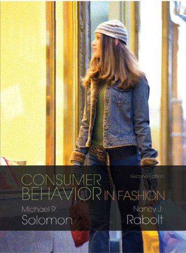 9780131714748: Consumer Behavior in Fashion