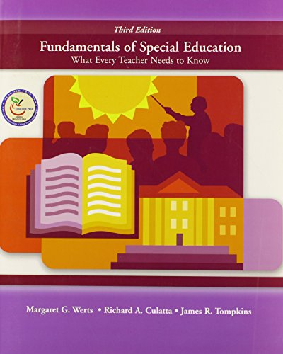 9780131714915: Fundamentals of Special Education: What Every Teacher Needs to Know